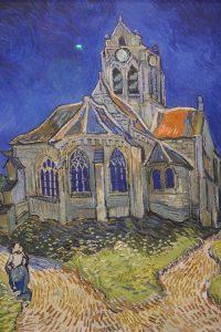 L'Église d'Auvers-sur-Oise par Van Gogh