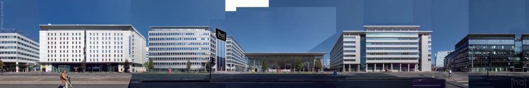 Maquette d'assemblage de panoramique boulevard Vivier-Merle Nord
