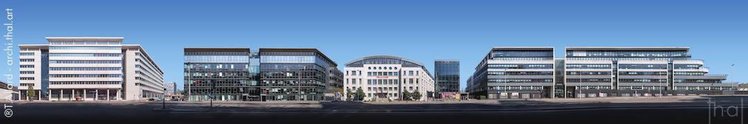 Panoramique immobilier boulevard Vivier Merle à Lyon Part-Dieu sud