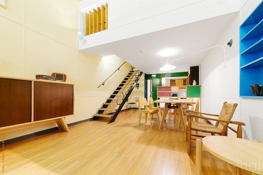 Appartement type E2 Le Corbusier au musée de l'architecture et du patrimoine