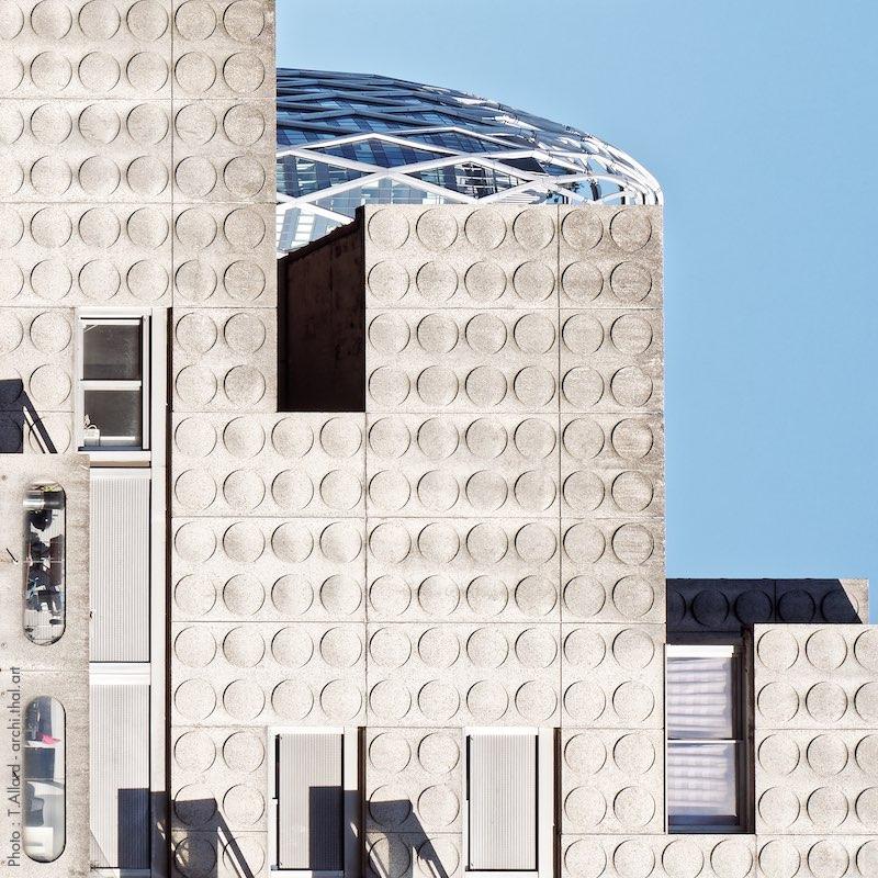 Tetris d'architectes brutalistes