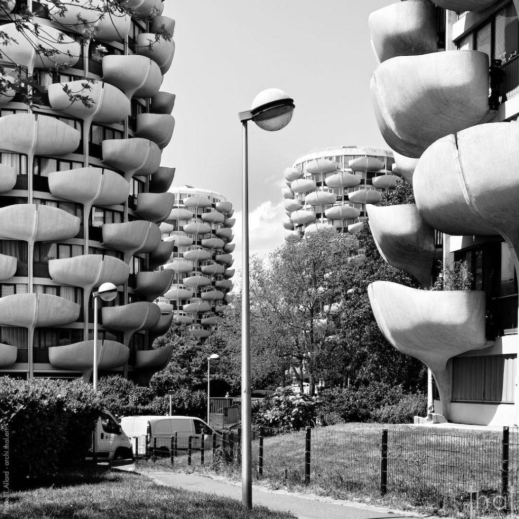 Les Choux de Créteil vu par le photographe Thierry Allard